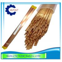 Buy cheap 1.0x400mmL Double Hole EDM Eletrode Pipe / Copper Tube For EDM Drill Machine product