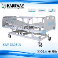 CE FDA Three Functions Comfortable Electric Hospital Bed for Nursing Home