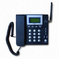 China GSM Fixed Wireless Phone with Real-time Clock and Emergency Dialing on sale