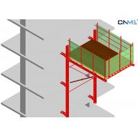 Buy cheap High Efficient Rail Guided Crane Loading Platform To Reposition Table Formwork product