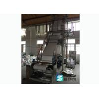 Single Screw Hdpe Plastic Bag Blowing Machine Elevator Rotary Head CE Approved