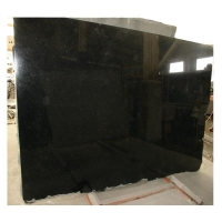 China 17mm-200mm  India Black Galaxy Black Gold Granite Tiles Slabs Kitchen Counter tops Wall Floor on sale