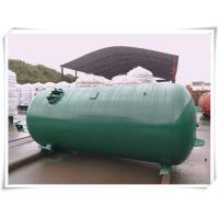 Buy cheap Industrial Compressed Oxygen Air Storage Tanks , Liquid Oxygen Portable Tanks With Bracket product