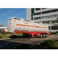 China 45000 Litres Diesel Fuel Petrol Oil Tanker SemiTrailer/TruckSemitrailer wholesale