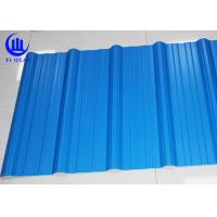Buy cheap Excellent Corrosion Resistanc PVC Blue Corrugated Plastic Roofing Sheets 1130mm product