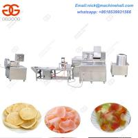 Buy cheap Factory Price Shrimp Cracker Making Line|Prawn Chips Processing Line|Prawn Chips Making Line product