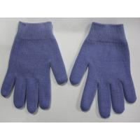 Buy cheap Youth Gel Moisturizing Gloves Spa Gel Filled Blue Cotton Gloves For Moisturizing Hands product