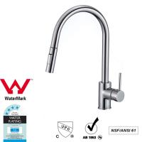 Buy cheap Cupc Lead Free Brass Sink Pull out Mixer Tap 360 Swivel No Corrosion product