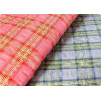Buy cheap Comfortable Yarn Dyed Cotton Seersucker Fabric Cloth For Umbrella product