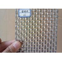 Buy cheap High Strength Flat Wire Mesh Specializing In Production / Metal Wall product