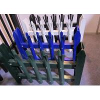 Buy cheap Eco Friendly Palisade Security Fence , Metal Picket Fence Panels 2.0*2.4m Size product