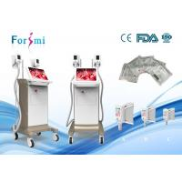 Buy cheap Fat removal cellulite machine on sale 2 cryo handles working together 1800w power 15 inch touch screen product
