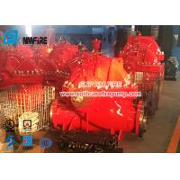 Buy cheap Single Stage Split Case UL / FM Diesel Fire Pump Set Airport Use 1500gpm @ 140-175PSI product
