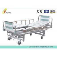 Quality Aluminum Pipe Medical Hospital Beds Manual 3 Crank Bed For Hospital Care (ALS-M314) for sale