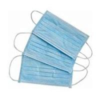 Buy cheap Antibacterial Non Woven Fabric Face Mask With Elastic Ear Loop Easy Carrying product