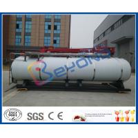 Buy cheap Food Hygiene Grade Stainless Steel Tanks For Milk Long Distance Transportation from wholesalers
