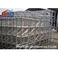 Buy cheap Luxurious Mini Rigging Truss , Pedestals Heavy Stage Truss Wear Resistant product