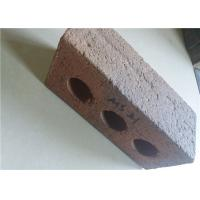 Buy cheap High Strength Perforated Clay Bricks Rough Surface 210x100x65mm product