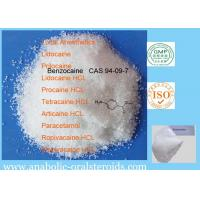 Quality White Crystalline Local Anesthetic Agents Benzocaine CAS 94-09-7 Relieve Pain For Surgery for sale