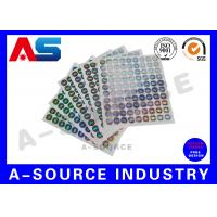 Buy cheap Secure  Printed Self Adhesive Stickers Labels Vinyl Printing With Serial Number product
