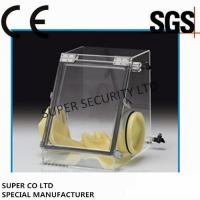 Buy cheap Small Laboratory Glove Box / Vacuum Glove Box for Testing under Sealed Atmosphere product