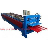 Buy cheap Waterproof Corrugated Roof Tile Roll Forming Machine for Factory , Warehouse , Garage product
