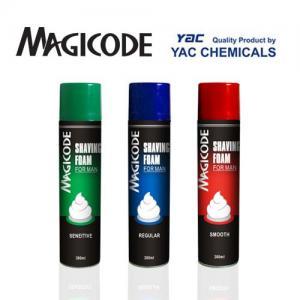 Buy cheap 300ml Shaving Foam Deodorant Body Spray with Flower Scent for Men product