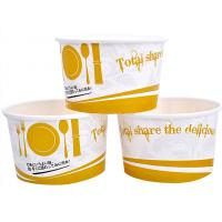 Buy cheap 3oz 5oz Branded Ice Cream Cups / Bowls For Ice Cream Shop , Eco - Freindly Ink product