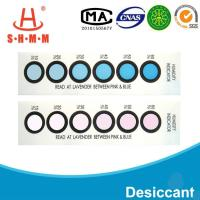 Buy cheap DMF Free Six Dots Blue To Pink Humidity  Indicator Card For  Packages of  Electronics product