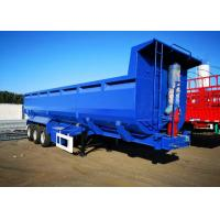 Buy cheap 3 Axle / 4 Axle Dump Truck Trailer 50-80 Tons Loading Capacity Tipper Semi Trailer product