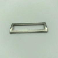 Buy cheap Silver 30mm Metal Strap Buckles Hardware Accessories Customer Logo product