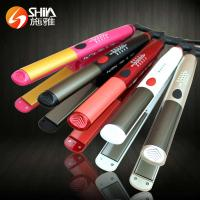 China ceramic coating hair straighteners flat iron with LED display hair styling tools wholesale