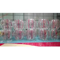 Colorful TPU Inflatable Bubble Ball , Inflatable Body Bumper Ball Soccer
