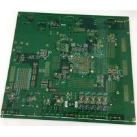 Buy cheap Rogers / FR4 Multilayer PCB Board 1oz Copper Thickness Gold Plating Edge Vias In Plating product