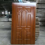 Buy cheap Melamine Mould MDF Door Skin For Interior Design , Durable Front Door Skins product