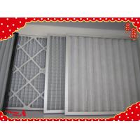 Buy cheap Primary synthetic fiber minipleated panel filters for Laminar flow filters product