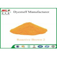 Buy cheap High Fastness Powder Tie Dye Reactive Brown 2 100% Purity Textile Dyestuff product