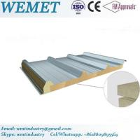Buy cheap 1000MM new type high strength rock wool fire proof insulated roof panel product