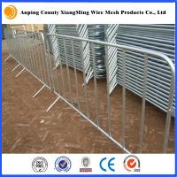 China galvanized/coated Portable Fencing Rental for Event Sites event fence barricade wholesale