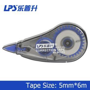 Buy cheap Artículo plástico de la cinta de corrección de la venta caliente de la cinta de corrección azul NO.90191 los 6m product