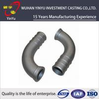 Lost Wax Investment Casting Small Parts , Cast Pipe Fittings Low Tolerance