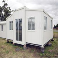 Buy cheap Steel Streucture Prefabricated Building with Steel Joist Export Portable Emergency Shelter product