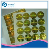 Buy cheap Holographic Self Adhesive Label , Anti-Counterfeiting Hologram Laser  Stickers product