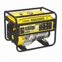 Buy cheap 389cc Gasoline Generator with 5kW Rated Power and 3000/3 600rpm Speed product