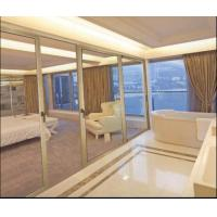 Buy cheap CR80 Bedroom Interior Sliding Glass Door, Aluminum Partition Sliding Door With Hollow Glass Factory product