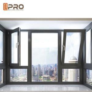 Buy cheap Waterproof Tilt And Turn Aluminium Windows / Commercial Windows And Doors product