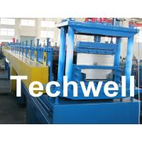 Buy cheap 2.5mm Thickness Ridge Cap Roll Forming Machine With Manual, Hydraulic Decoiler product