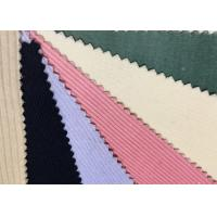 Buy cheap Colorful Spandex Stretch Corduroy Fabric Material 6w 8w 9w 11w product