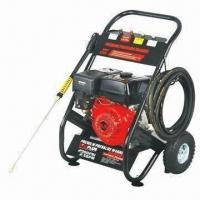 Buy cheap 17MPa High-pressure Washer with 6.5HP Power and 196cc Displacement product