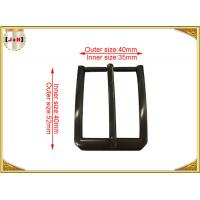 Buy cheap Zinc Alloy Custom Made Pin Belt Buckle For Men Square Gunmetal Finish product